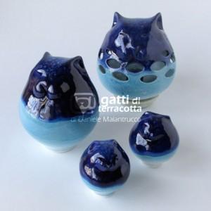 la famiglia blu