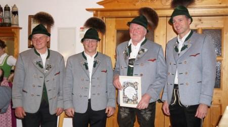 Lenz Obermüller, Klaus Kollmannsberger, Peter Thaurer sen., Klaus Löhmann.