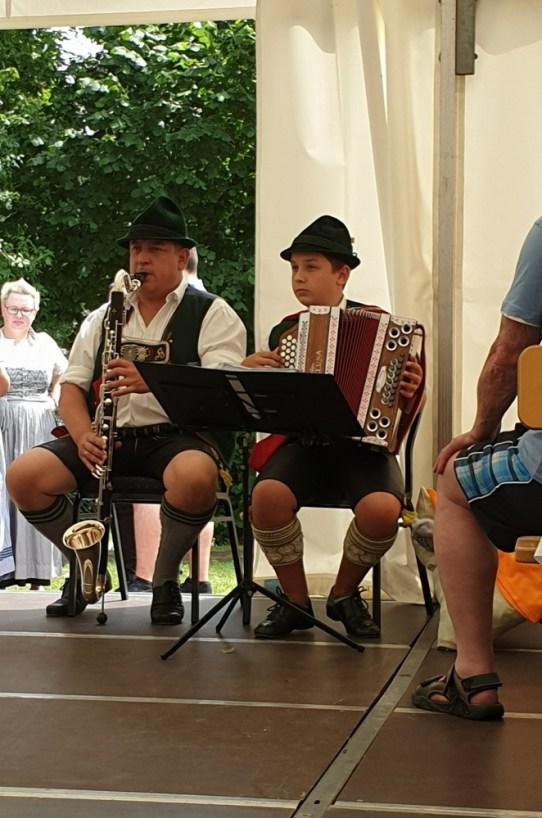 Kinder-Auftritt im Altenheim St. Josef