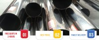 Hot Finished Seamless Stainless Steel Pipes Cold Finished ...
