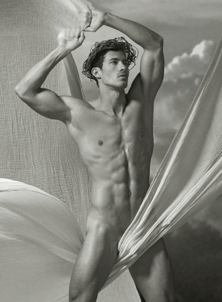 Classic Male Nude Male Perfection by Photographer David Vance