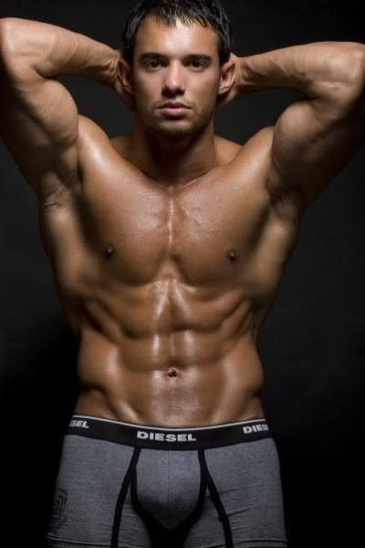 Kenzie - Hot Muscle Flexing