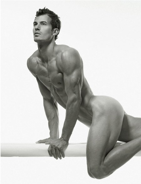 Ripped Muscle Body Male Perfection by Photographer David Vance