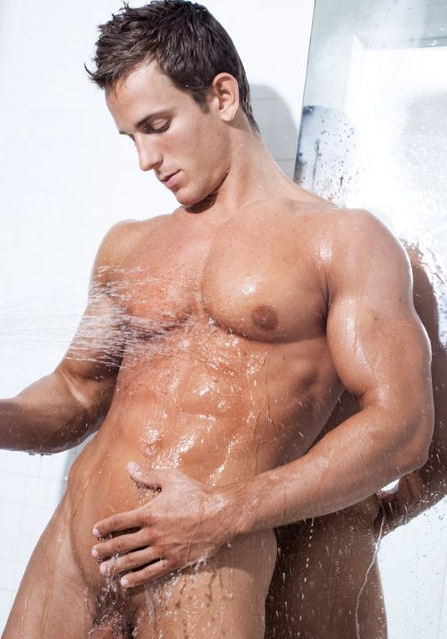 Jakub Stefano In The Shower