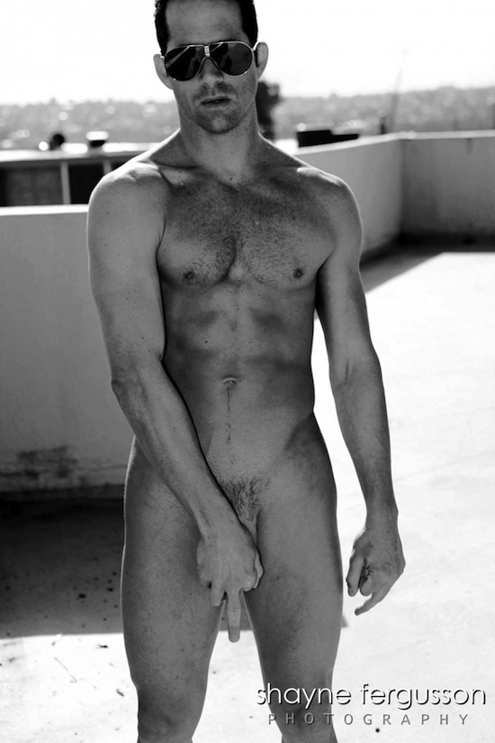Muscled and Hairy Steven Watson By Shayne Fergusson Naked Attitude   Steven Watson By Shayne Fergusson