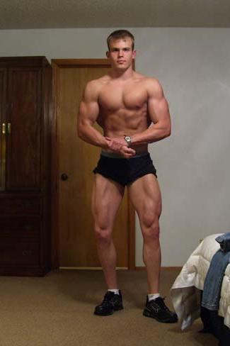 Bodybuilder Taylor Burford