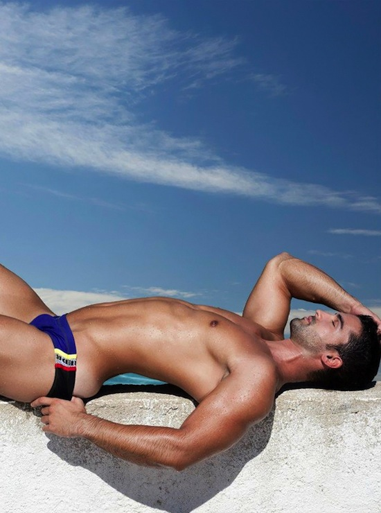 Isaac Cosculluela Swimwear Bulge 9 Wet Bulges   Isaac Cosculluela For RED