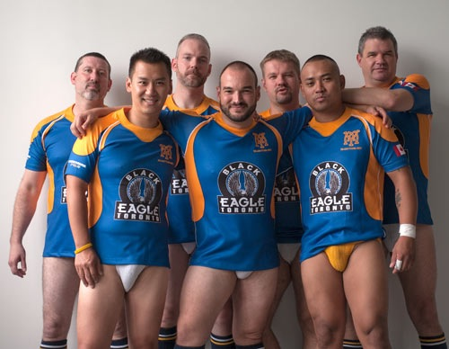 Gay Rugby Muddy York Rugby Team 3 Torontos Gay Rugby Team