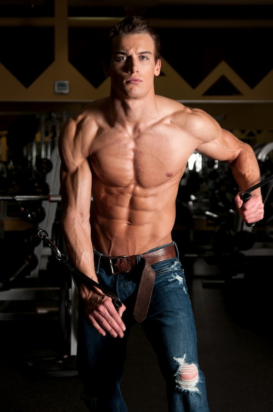 Muscled Fitness Model Marc Fitt 4 Muscled Fitness Model Marc Fitt!