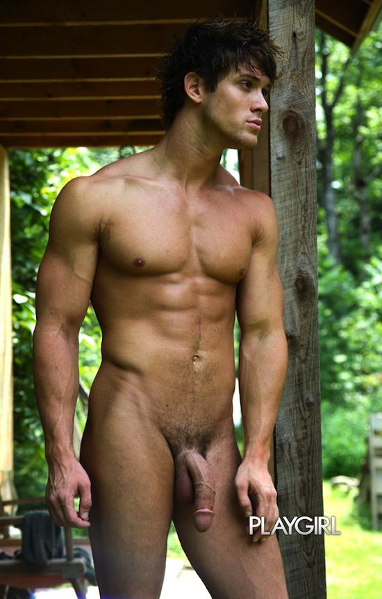 Male Model Leighton Stultz Naked (5)