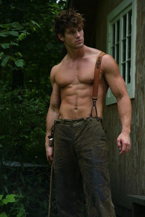 Male Model Leighton Stultz Naked (1)