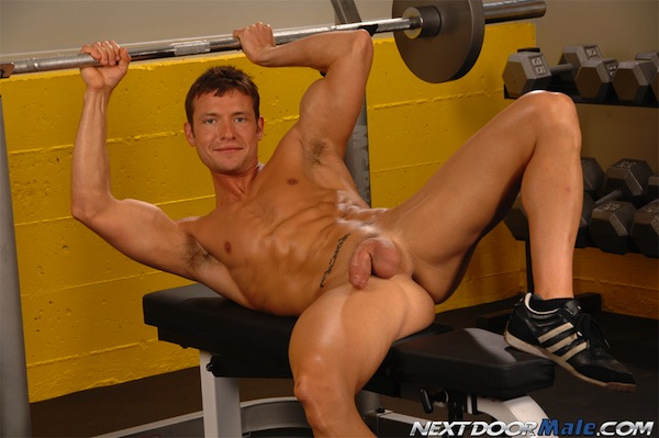 Kevin Crows Nude In The Gym 7 Kevin Crows Nude In The Gym