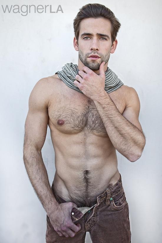 Awesome Hairy Hunk Levi Jackson (5)