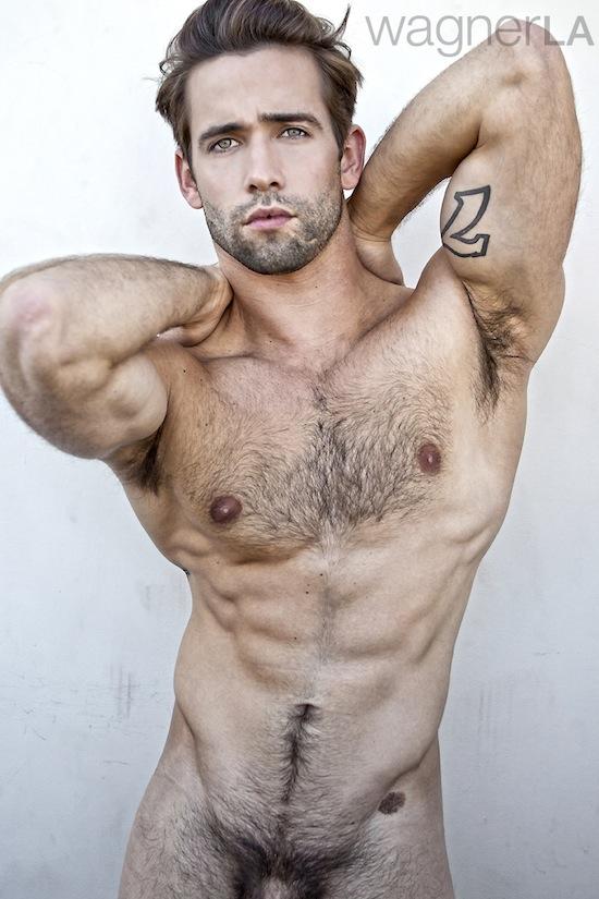 Awesome Hairy Hunk Levi Jackson (9)