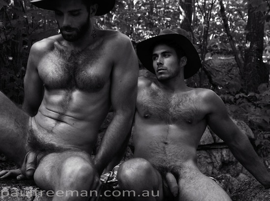 Hairy And Rugged Men Naked (4)