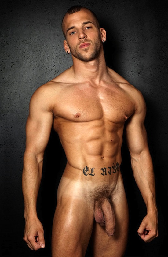 ... Freeman Model Gay Naked raunchy Uncut Muscle Model Naked Nuno Branco 5