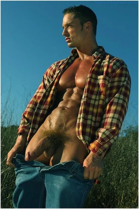 Male Model Trevor Adams Naked (7)