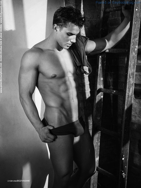 Classic Photography With Handsome Jock Christian Bok (4)