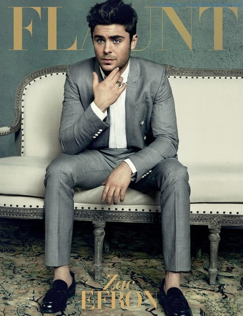 Zac Efron In Flaunt Magazine 1 Zac Efron In Flaunt Magazine