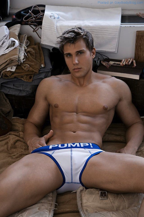 Muscled Hunk Christian Bok By Rick Day (5)