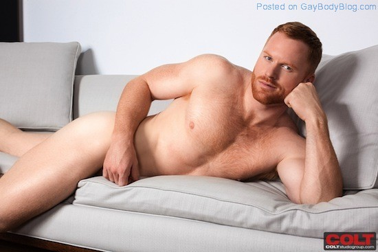 New Hunky Red Headed Muscle Man Seth Fornea 4