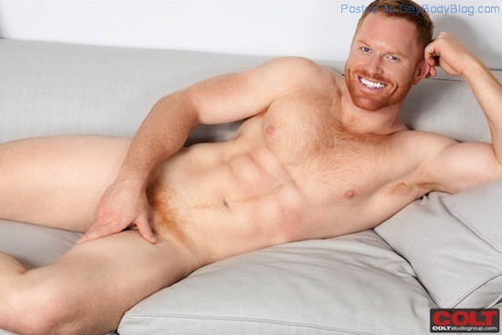 New Hunky Red Headed Muscle Man Seth Fornea 5