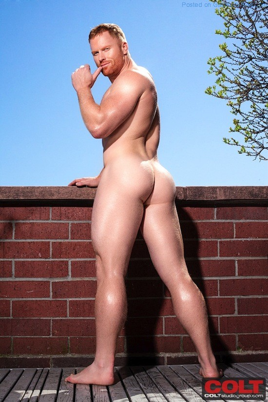 New Hunky Red Headed Muscle Man Seth Fornea 8