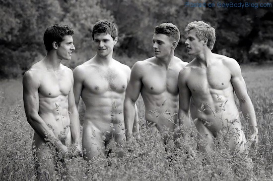 The New Warwick Rowing Team Naked Calendar 2