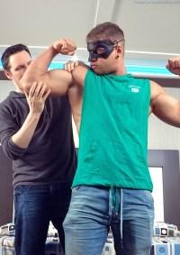 Jacking Off Muscle Man Brad