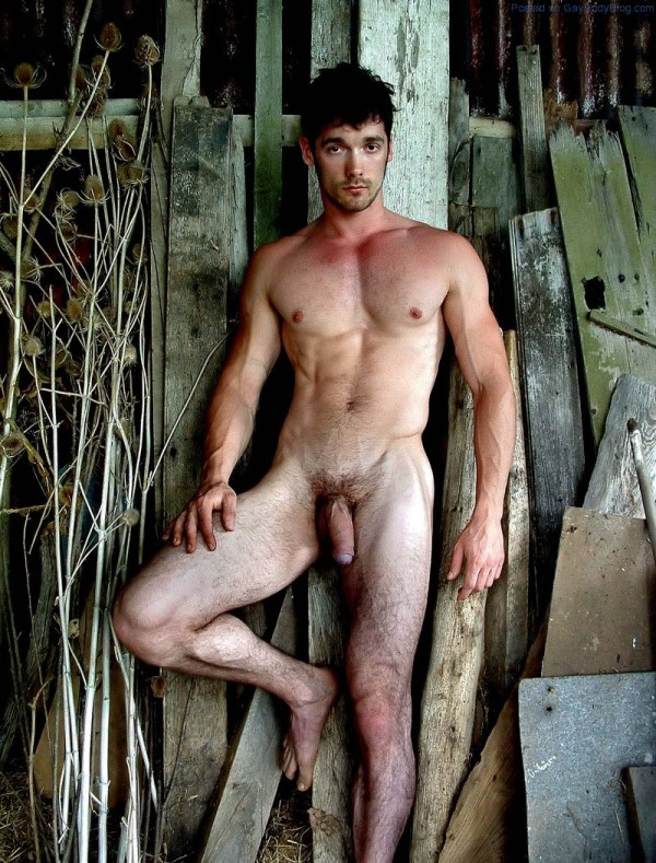 Straight Naked Guy 45
