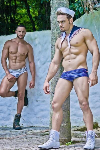 Able Seamen Fabio Santana And Junior Bryan 1