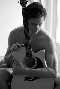Jocilio Piantino Really Loves His Guitar