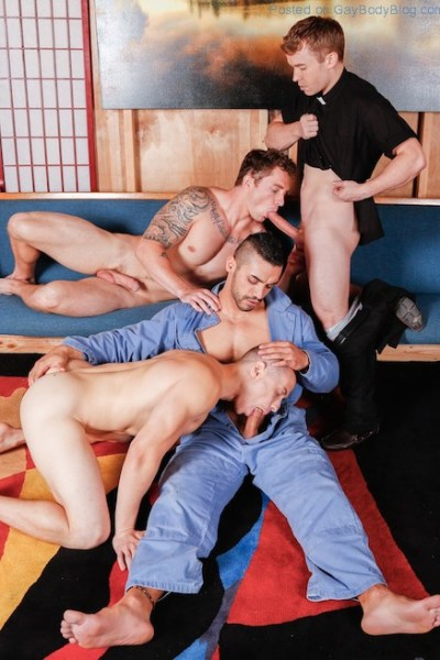 A Great Gay Orgy To Finish The Week 0