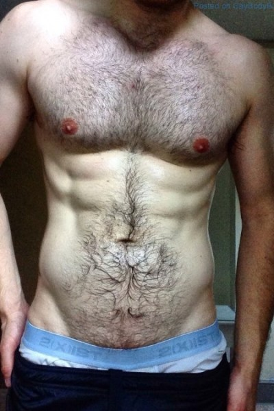 An Anonymous Hairy And Hung Uncut Hunk 1