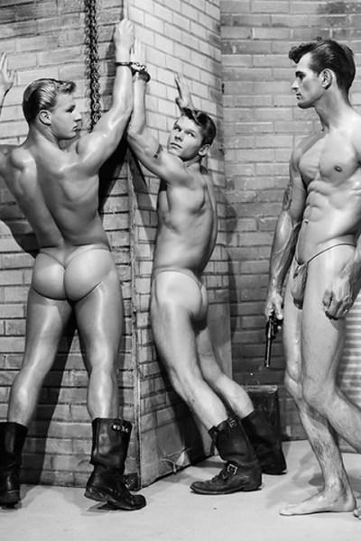 Classic Men Posing For Bob Mizer - AMG 1