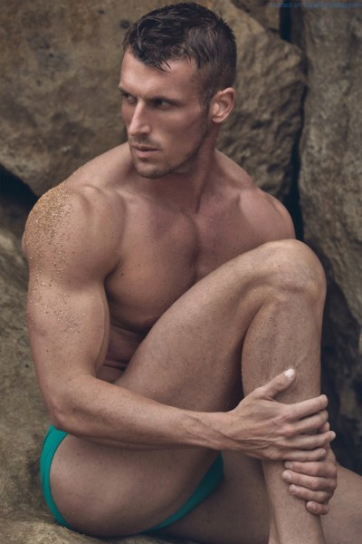 Handsome Male Model Will Klem Is Looking Ripped 1