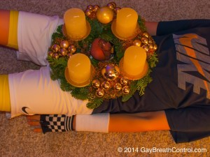 Advent wreath and Chastity CB6000