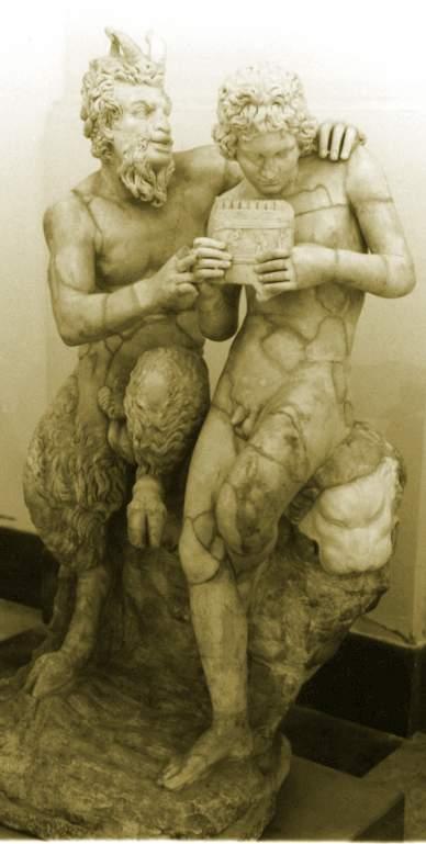 The gay myth of Pan and Daphnis