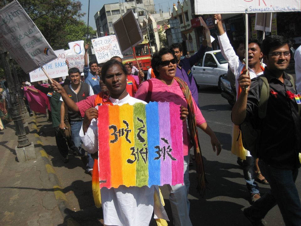 Gay Pride march in Pune held in 2011