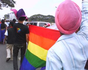 Gay Sikh walking pride in Bangalore