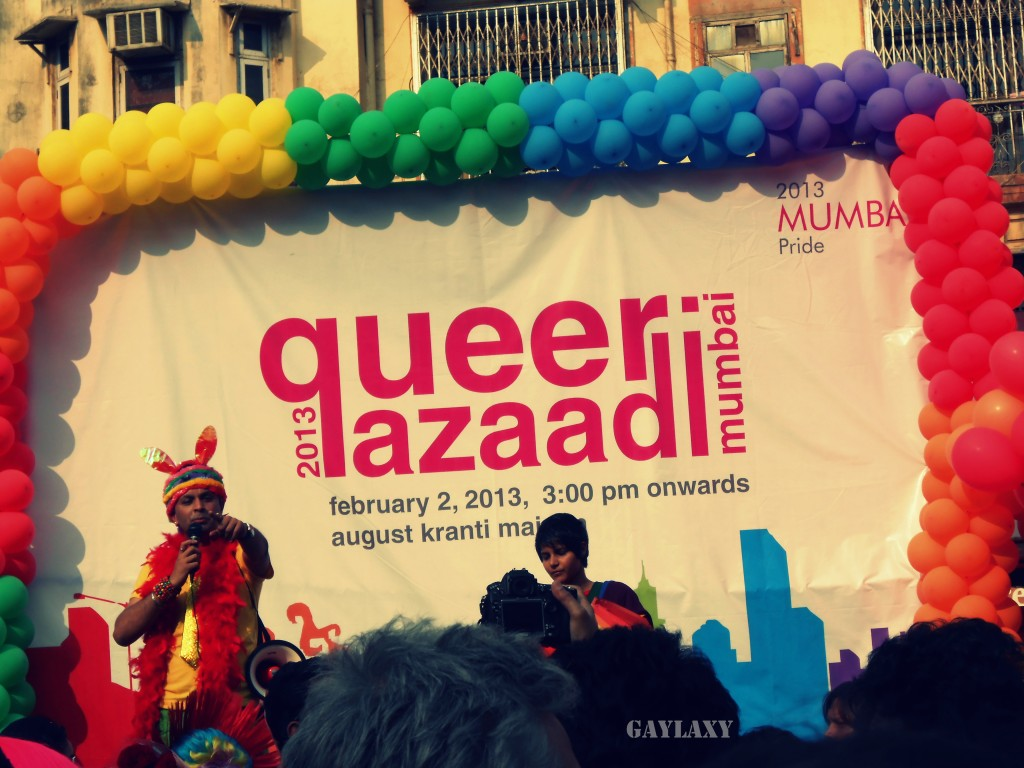 gay pride march in Mumbai India