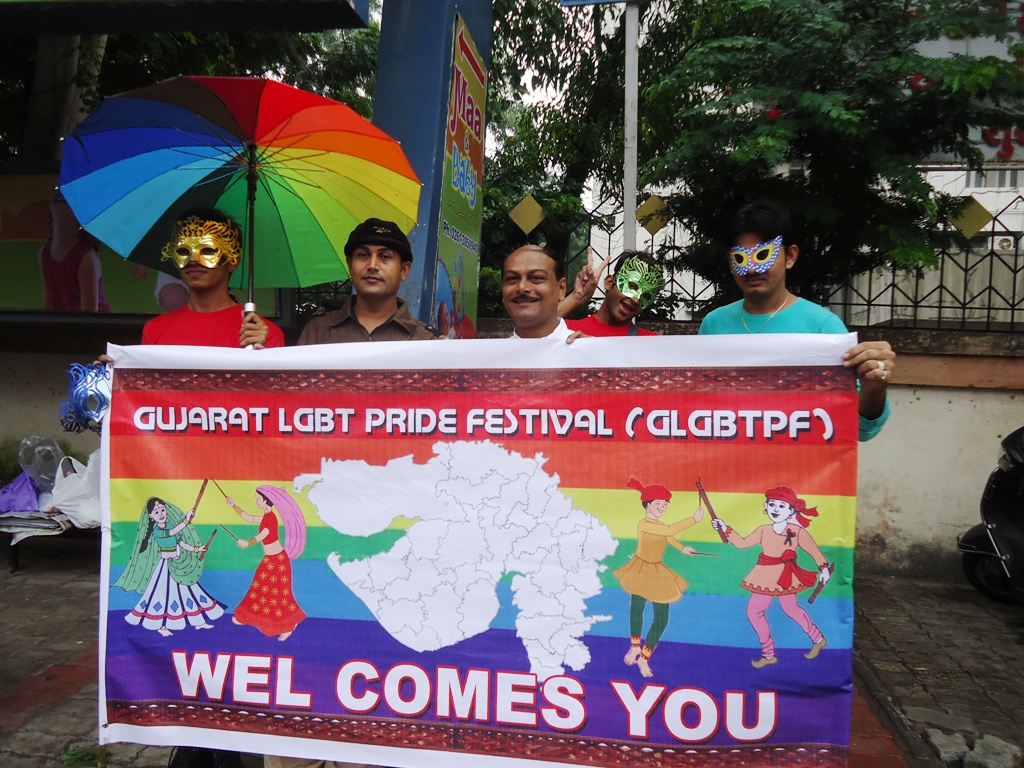 Pride March held in Surat, Gujarat on Oct 6, 2013