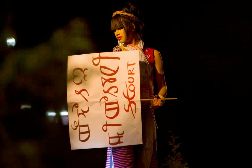 Sec 377 protest in Manipur by Transgenders
