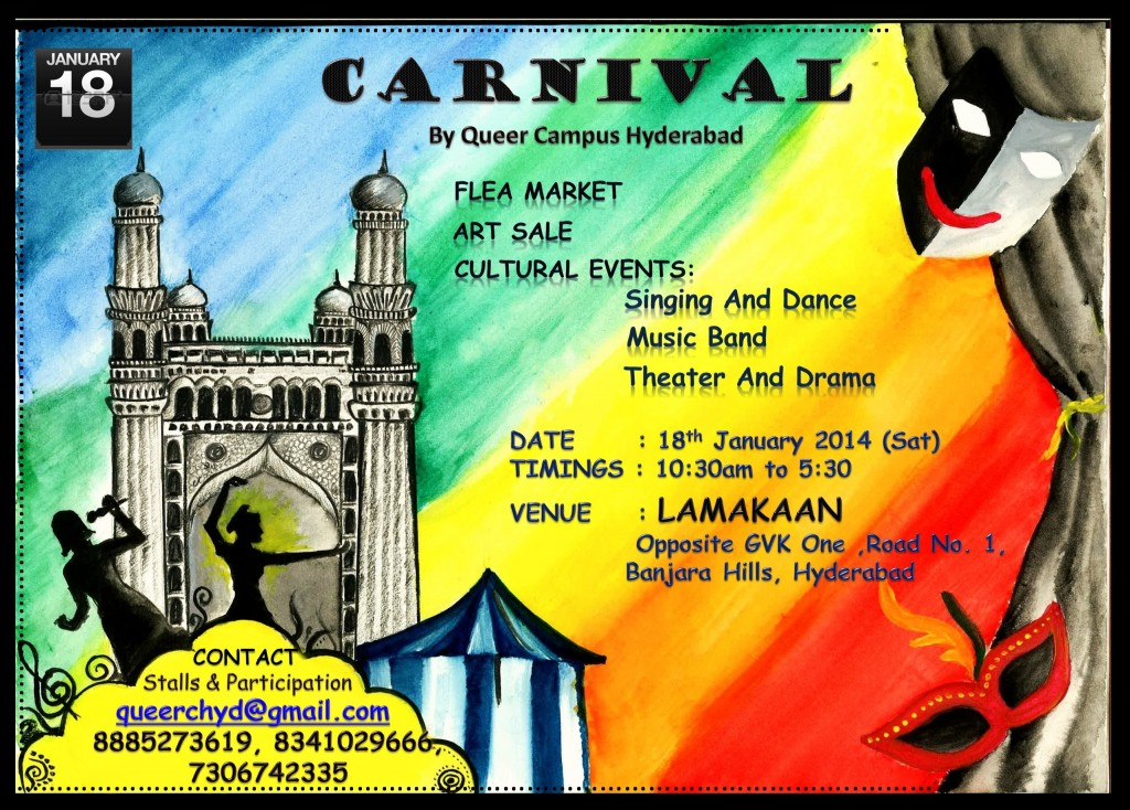Hyderabad carnival for gays and lesbians