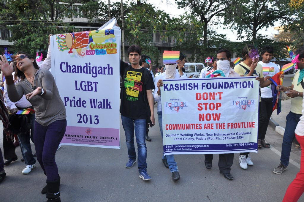 Photo from Chandigarh Pride 2013