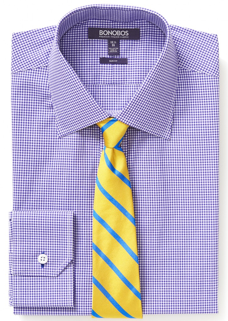 Mini Gingham Deep Grape