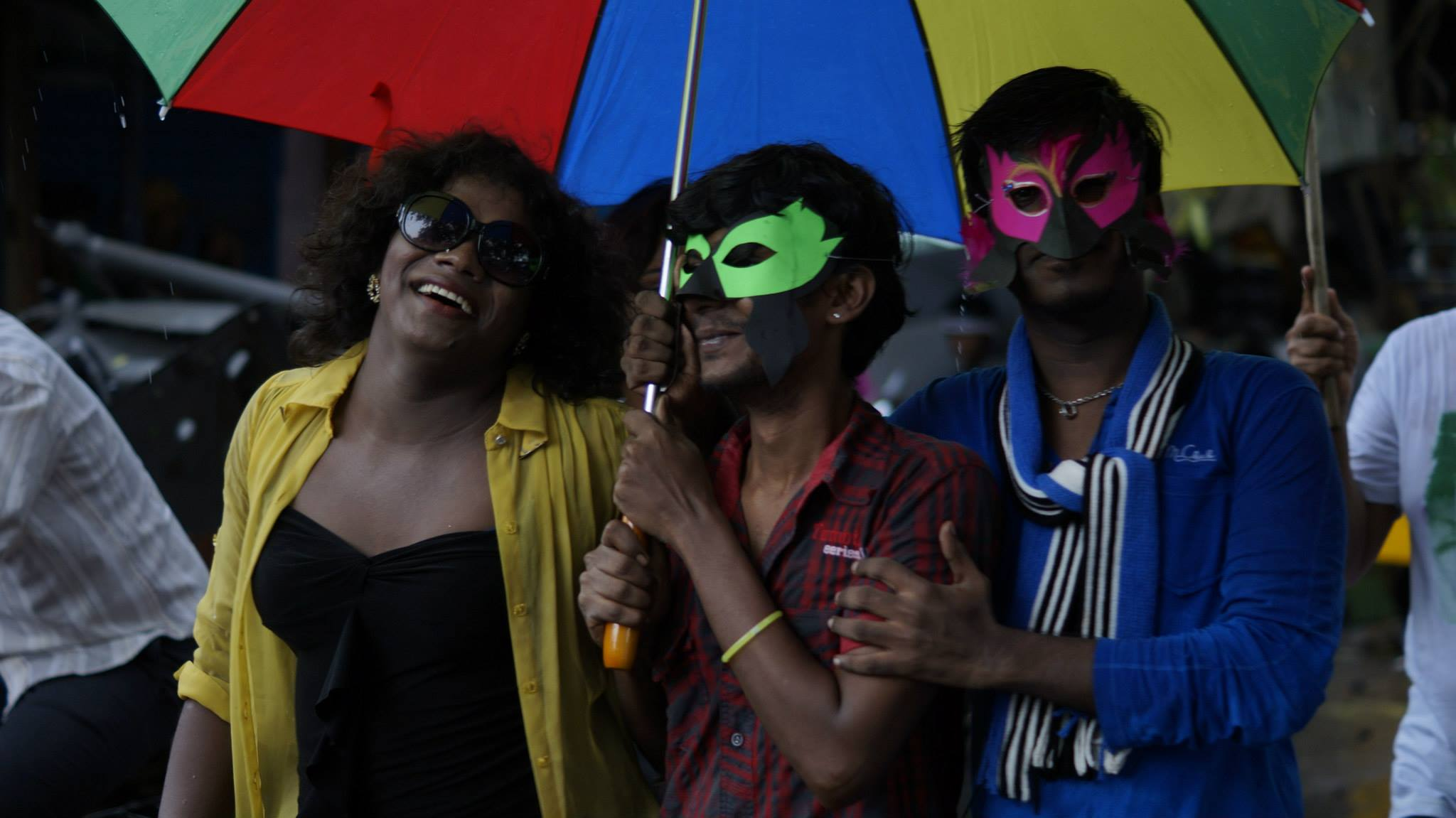 Participants in Chennai Pride 2014
