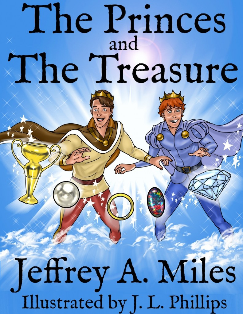 Cover of The Princes and The Treasure by Jeffrey A. Miles