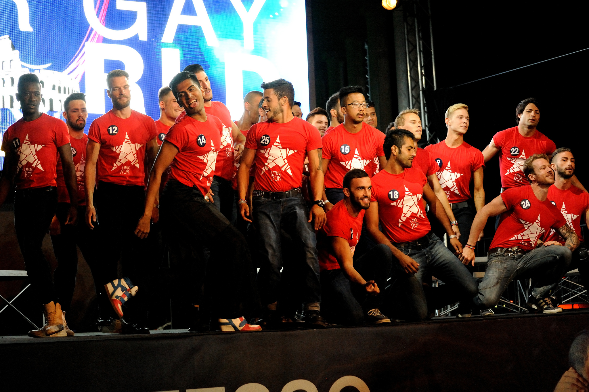 A picture of particiapnts at Mr Gay World 2014 (Photo: Beate A Tecza/MrGayWorld.com)
