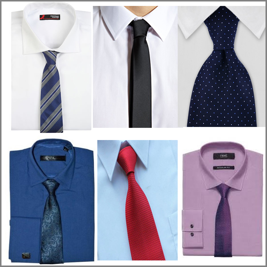 Guide for men 39 s shirt tie combination gaylaxy magazine for Shirt and tie for men